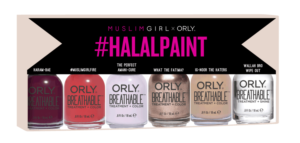 The #HalalPaint Collection