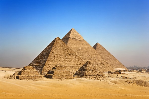 Great Pyramid of Giza is the largest among all pyramids at the Giza pyramid complex