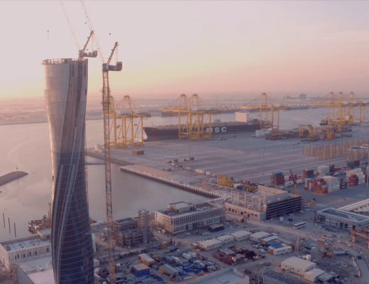 The Emir of Qatar officially inaugurated Hamad Port, the largest of its kind in the Middle East
