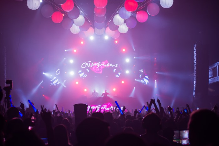 The Chainsmokers in concert