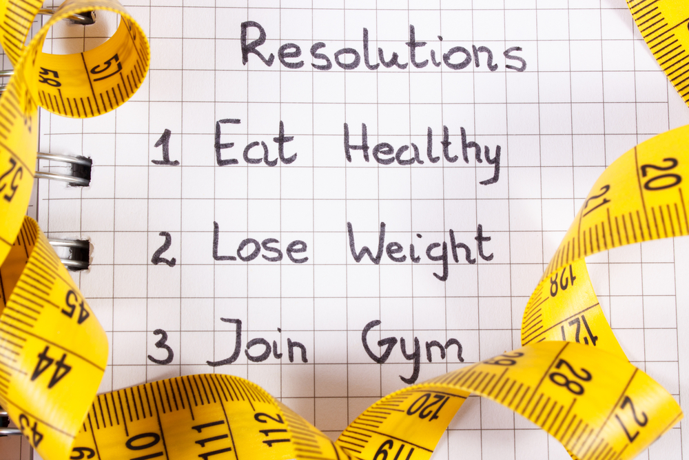 New year resolutions people break