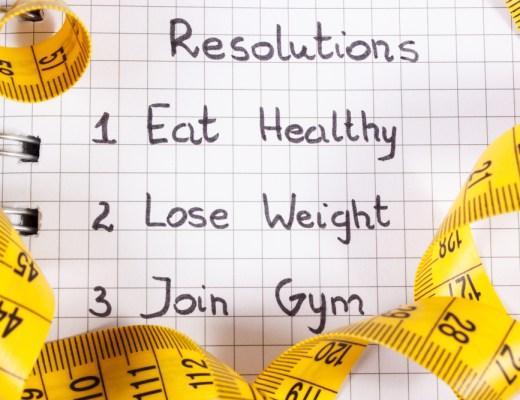 New year resolutions people break