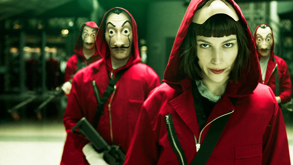 la casa de papel (money heist) a spanish limited series on netflix