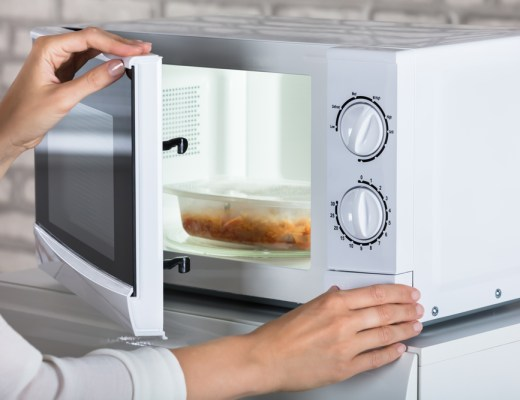 you should not microwave your food in plastic containers due to toxic chemicals