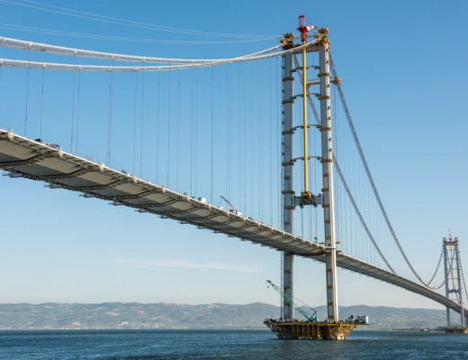 Longest suspension bridge in the world - suspension bridges