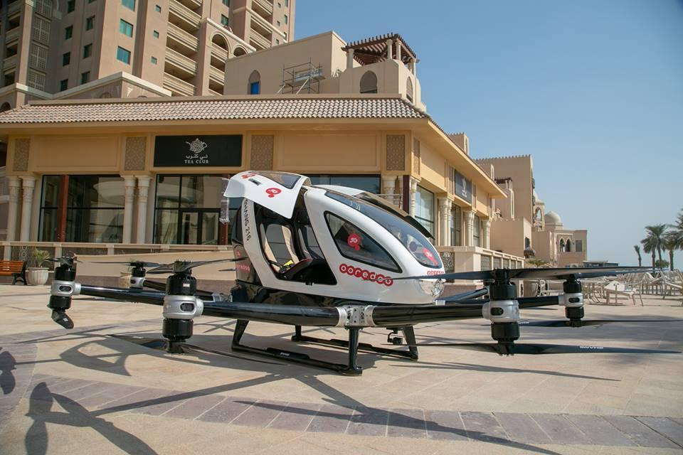 The 5G drone