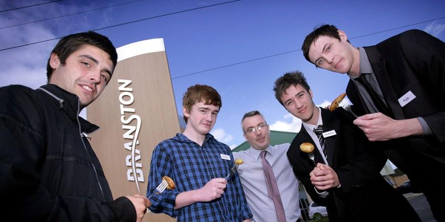 3--L-to-R-Matt-Cook,-Bradley-Cross,-Simon-Telfer-of-Branston,-Matt-Meen,-Kyle-Johnson