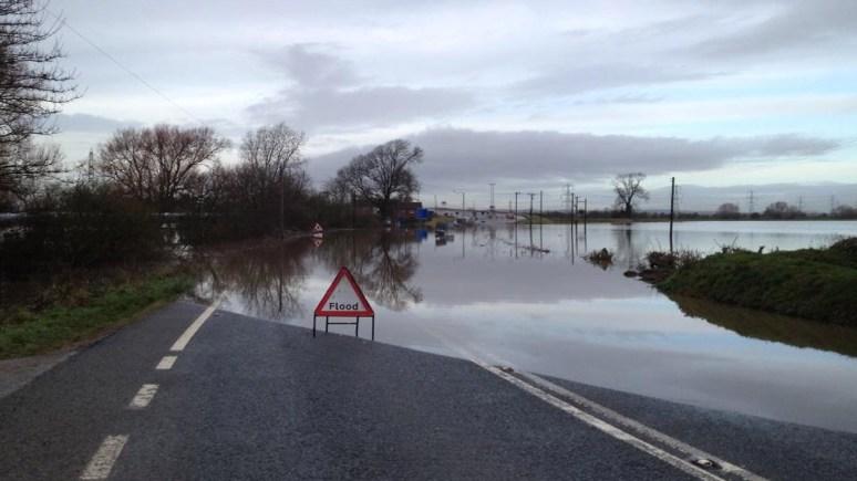 A57 at Dunham, near the toll bridge. Photo: Lincolnshire RPU
