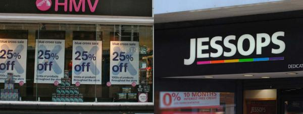 HMV and Jessops
