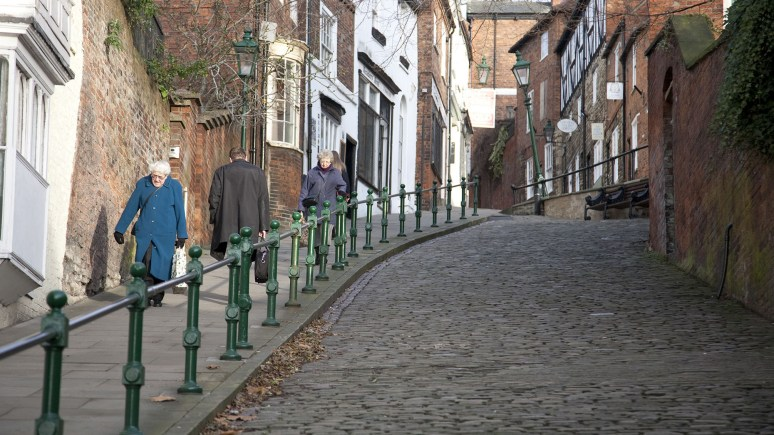 Steep Hill in Lincoln