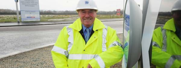 Councillor William Webb, Executive Member for Highways and Transportation at Lincolnshire County Council, which financed and delivered the £22 million project.