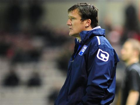 Grant Brown was also in caretaker charge of the first team in October 2007 and 2011. Photo: Lincoln City FC