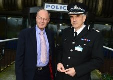 Lincolnshire PCC Alan Hardwick and Police Chief Constable Neil Rhodes. Photo: Steve Smailes for The Lincolnite