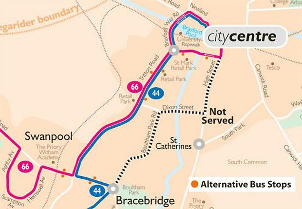 alternative route