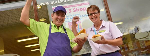 Burton Road Chippy are no strangers to winning awards.