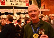 Steve Renshaw, organiser of the Lincoln Beer Festival. Photo: Steve Smailes for The Lincolnite