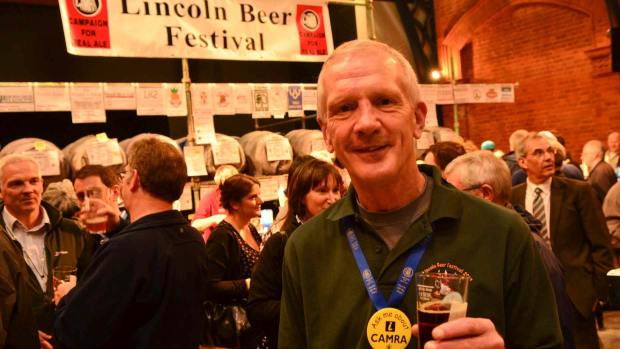 Steve Renshaw, organiser of the Lincoln Beer Festival. Photo: Steve Smailes for The Lincolnite