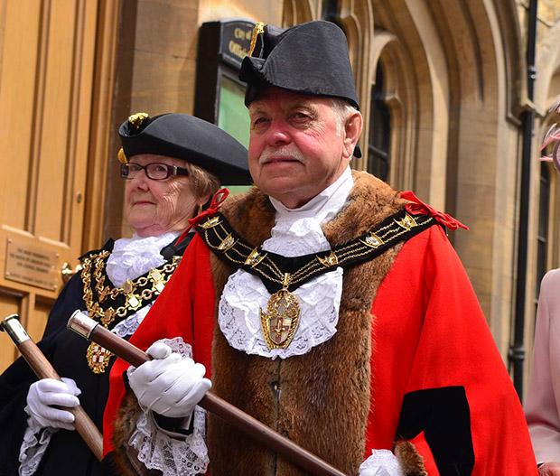 Mayor of Lincoln, Councillor Pat Vaughan.