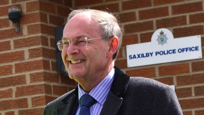 The first elected Lincolnshire Police and Crime Commissioner, Alan Hardwick. Photo: Steve Smailes for The Lincolnite