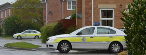 There was increased police presence in Saxilby after a house in the Lincoln village was raided in connection with the Woolwich incident.