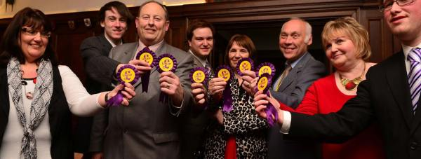 UKIP gained 16 County Council seats, making them the second largest party on the council. Photo: Steve Smailes for The Lincolnite