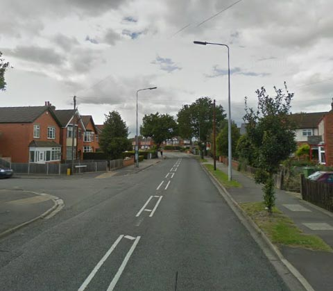 Boultham Park Road at the junction with Mayfair Avenue. Photo: Google Street View