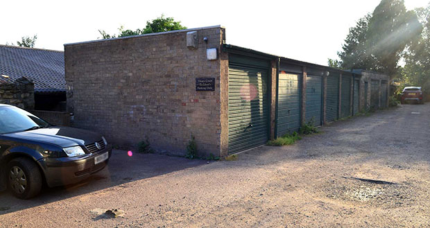 The area that would become part of the building yard. Photo: Steve Smailes for The Lincolnite