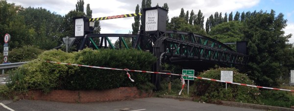 The power cut occurred after an electricity cable on Waterside South bridge collapsed. Photo: File/The Lincolnite