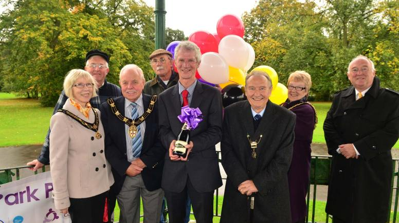 The Boultham Park fundraising appeal launch. Photo: Steve Smailes for The Lincolnite