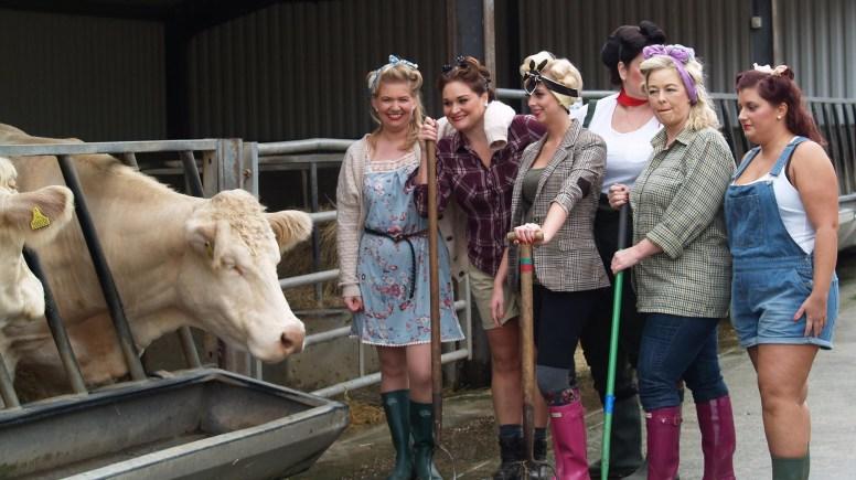 Behind the scenes at the Rand Farm Charity shoot, Photo: Katie Johnson