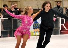 Professional Skaters Kelly Hemingway and Neil Cilcott are set to perform at the Lincoln BIG Ice Rink opening ceremony.