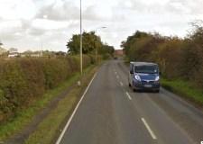 Washingborough Road Lincoln, where the crash happened in 2012. Photo: Google Street View