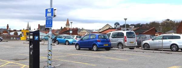 The City Council-run Thornbridge car park above the bus station in Lincoln. Photo: File/The Lincolnite
