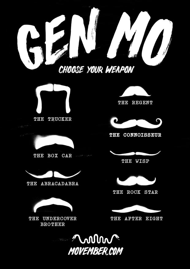 Movember Style Guide 2013