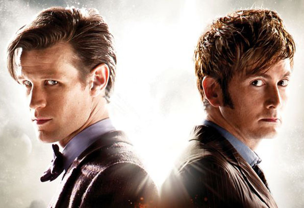 Matt Smith and David Tennant will both feature in the episode. Photo: Odeon