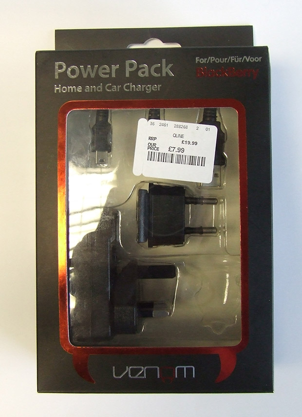 The faulty charger pack, which was sold by TK Maxx in 2012. Photo: Lincolnshire Trading Standards