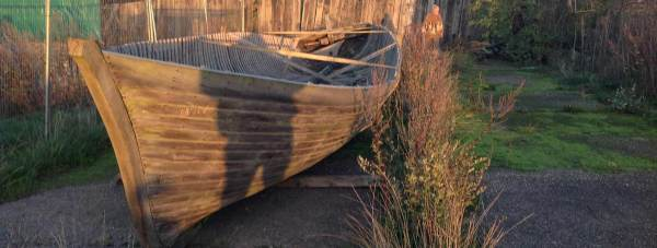 The Mary Gordon passenger boat, as it presently stands. Photo: The Mary Gordon Trust