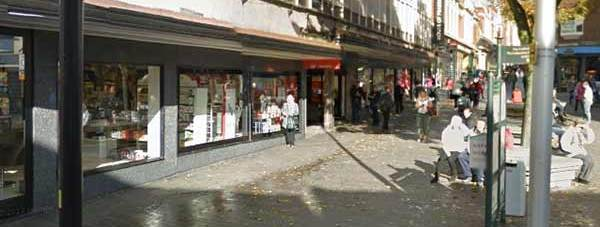 Lincoln High Street next to House of Fraser. Photo: Google Street View