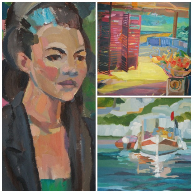 A collection of Phil Bowman's own work is currently on show at the Gallery at St Martin's.
