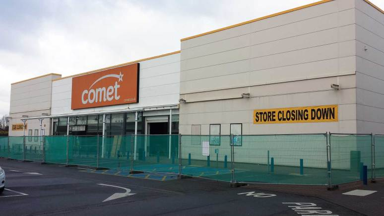 Work is already underway to refit the former Comet unit off Tritton Road in Lincoln. Photo: File/The Lincolnite