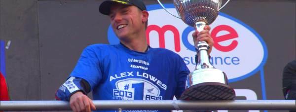 Lincoln Motorbike champion Alex Lowes. Photo: The 400 Company