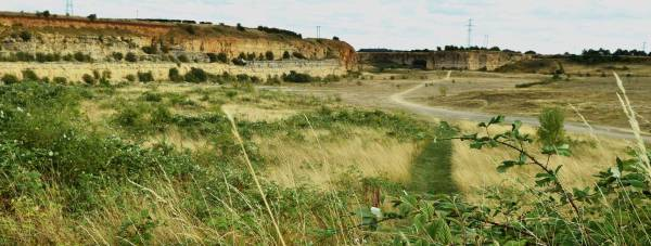 The Greetwell Quarry area off Outer Circle Road in Lincoln. Photo: Steve Smailes for The Lincolnite