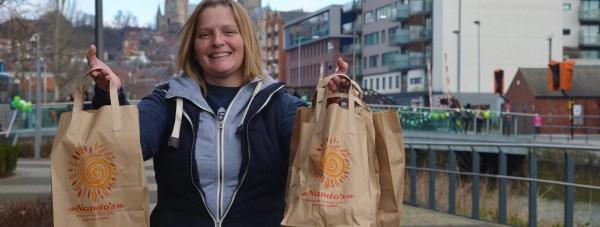 Jacqueline Coles of JC Deliveries. Photo: Emily Norton