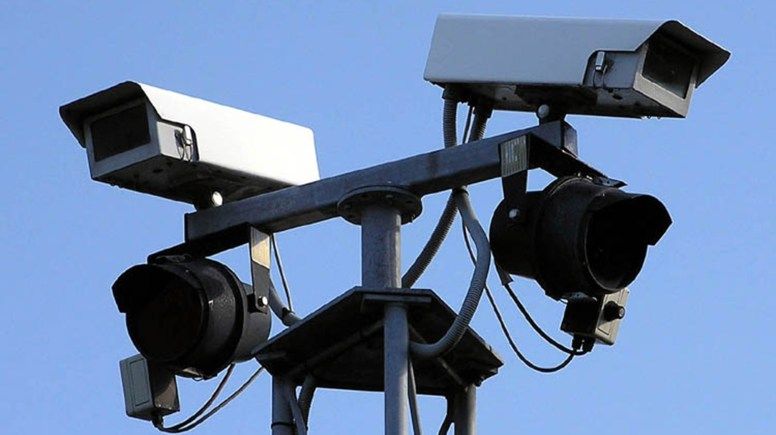 Closed-circuit television cameras such as these can be used to take the images scanned by automatic number plate recognition systems. Photo: Adrian Pingstone