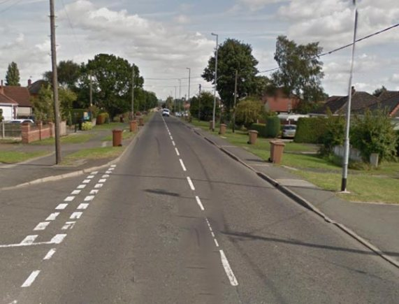 Mill Lane in North Hykeham, Lincoln. Photo: Google Street View