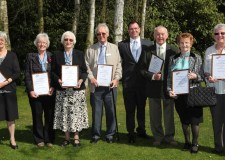 Volunteers at Lincolnshire care homes were rewarded for their efforts at a special events ceremony. Photo: Phil Crow
