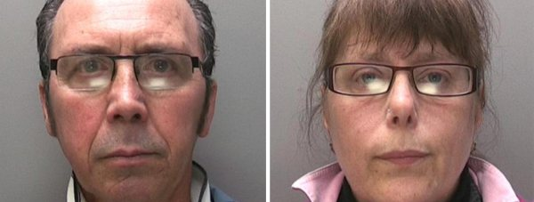 Peter Childs (61) and Alison Childs (48)  each received three years in prison for a series of dishonesty offences. Photos: Lincolnshire Police