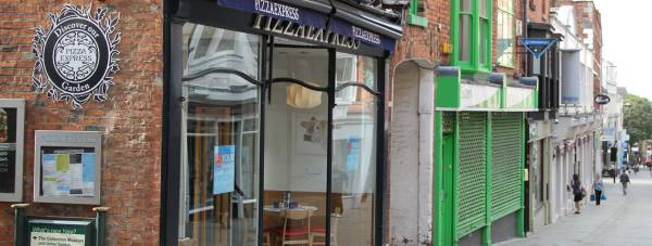 Pizza Express on the High Street in Lincoln. Photo: File/The Lincolnite