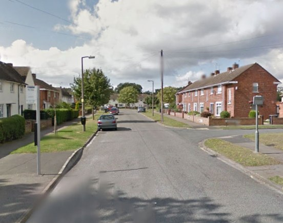 Scampton Avenue in Lincoln. Photo: Google Street View