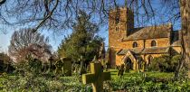 St Mary's Church in Claxby. Open 10th - 11th May, Saturday 10am-4.30pm & Sunday 10am-4.30pm. Photo: Push Creativity